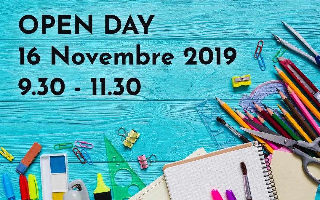 Venite a conoscerci al prossimo Open Day!